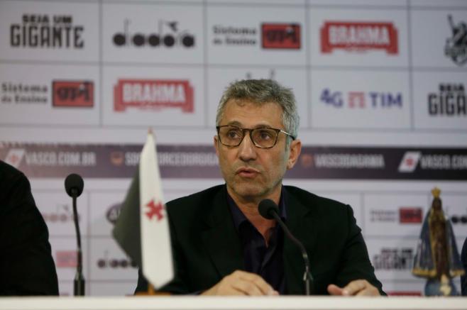 Atual presidente, Campello propõe nova eleição no Vasco no dia 12