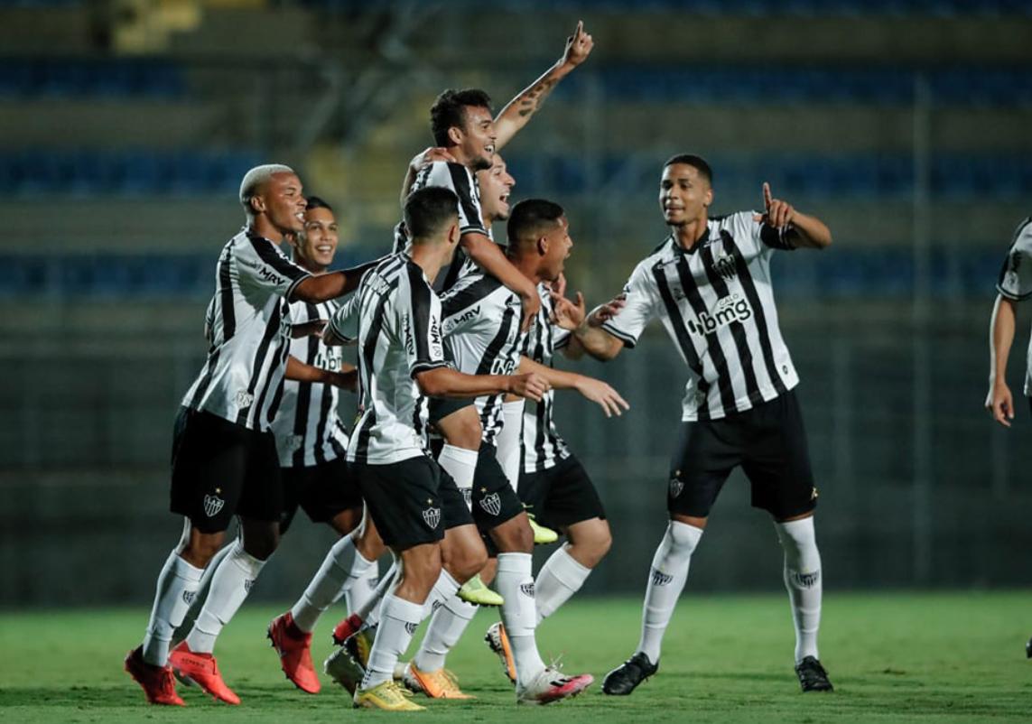 Atlético-MG vence o Flamengo pelo Campeonato Brasileiro Sub-20