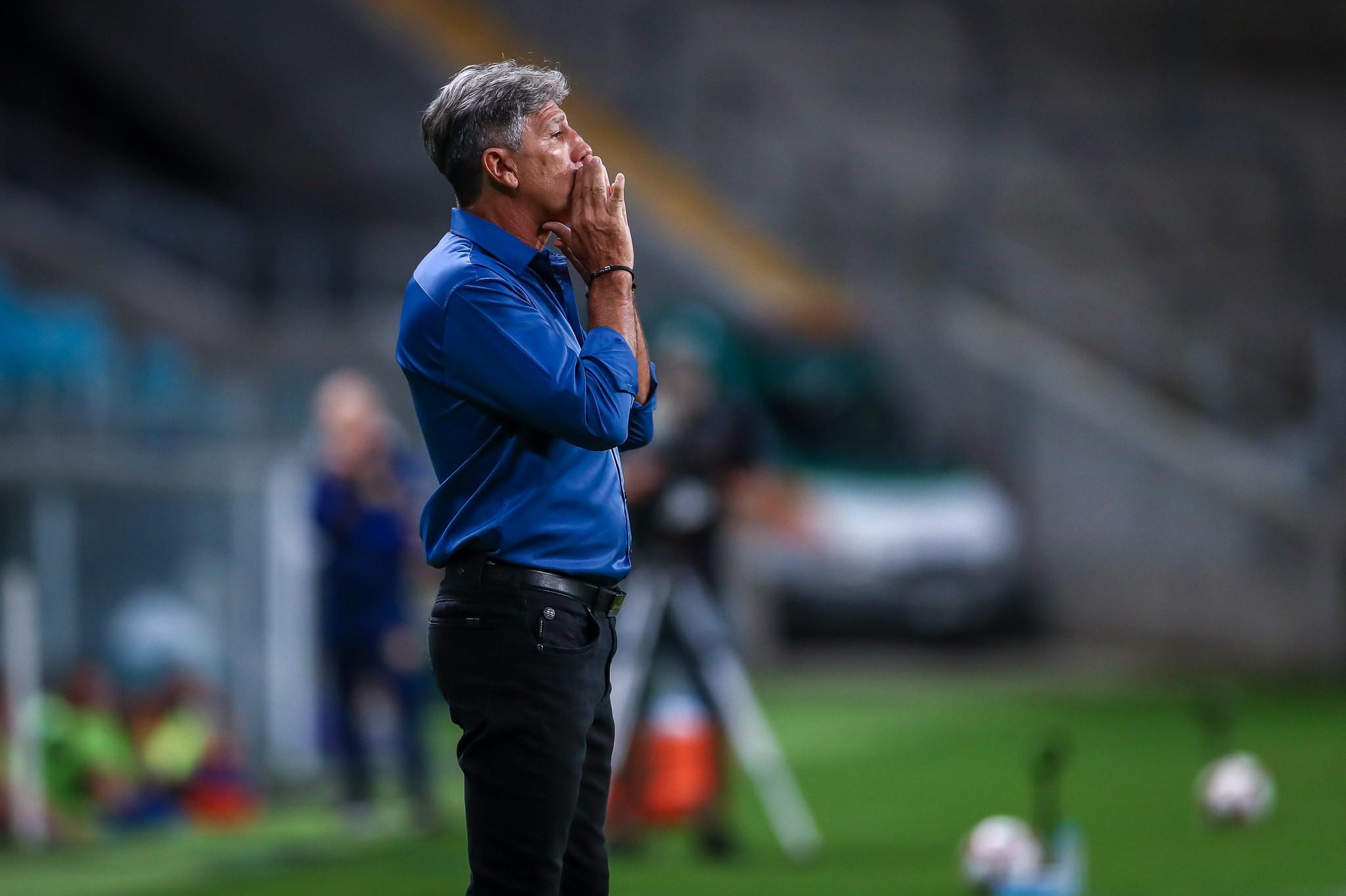 """Renato Gaúcho explica saída do Grêmio: """"Ouvi certas coisas de uma pessoa e não gostei"""""""