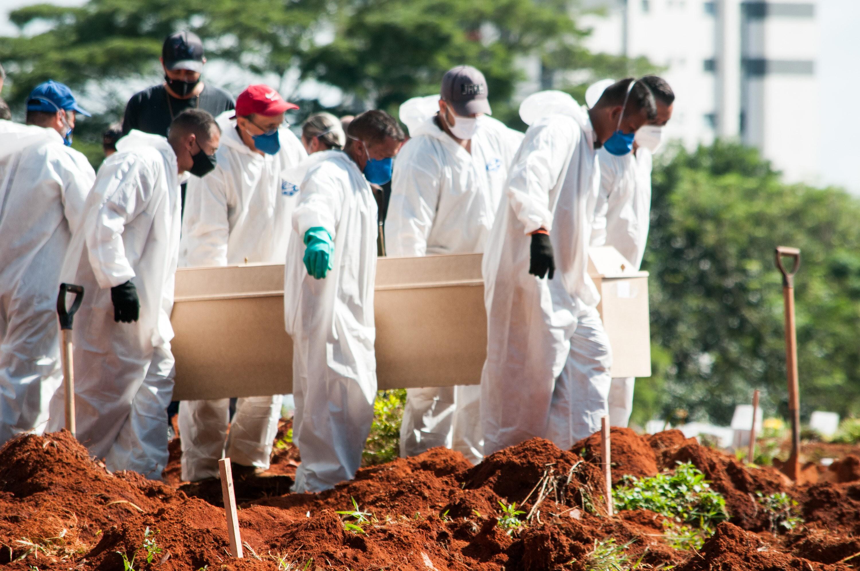 12,7 mil pessoas morreram pela doença em Mato Grosso desde o início da pandemia
